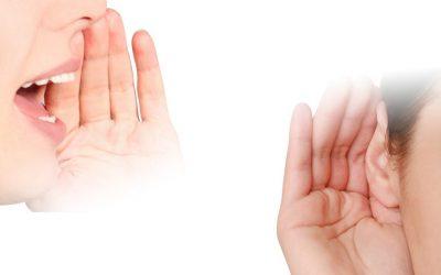 Prisluhnite in bodite slišani